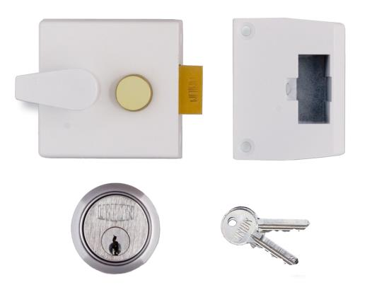 1026 / L1026 - Narrow Stile Cylinder Night Latch