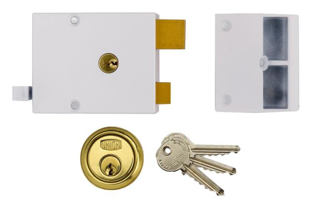 1332 - Standard Stile Drawback Lock